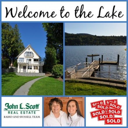 Big Lake WA Waterfront Home on '50 ft of Lakefront Sold - 17848 Gem Lane, Mount Vernon